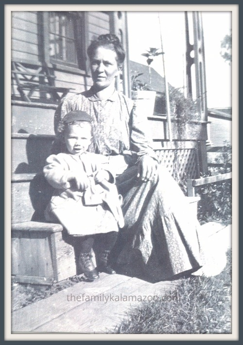 Cora and little Adrian circa 1910