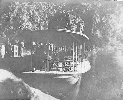 Steamboat on the Kalamazoo River