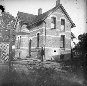 Richard DeKorn's home at the corner of Burdick and Balch, Kalamazoo, Michigan