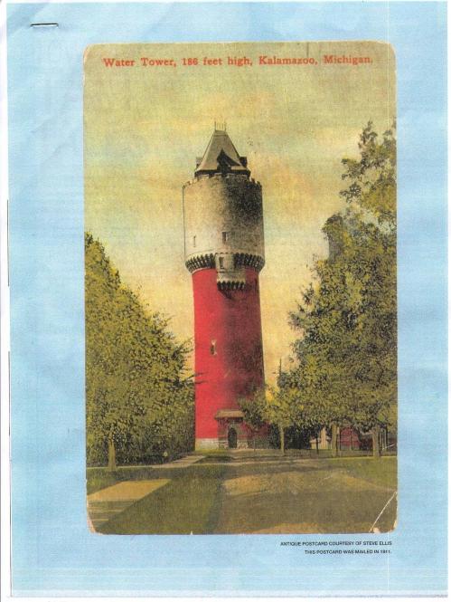 KPH Water Tower, Oakland Drive, Kalamazoo, MI