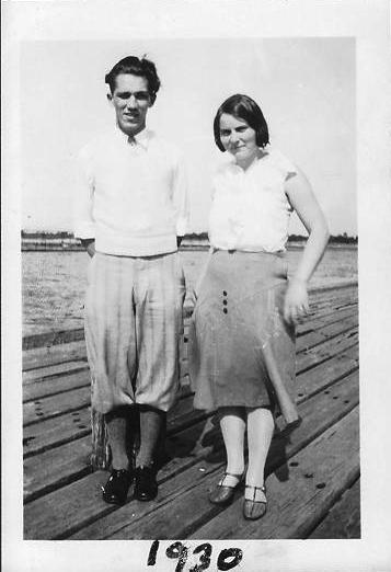Adrian Zuidweg and Edna Mulder1930