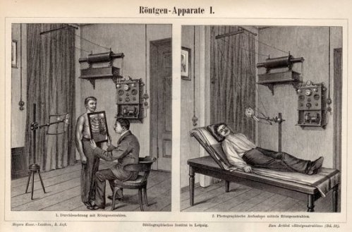 1899 X-ray machine