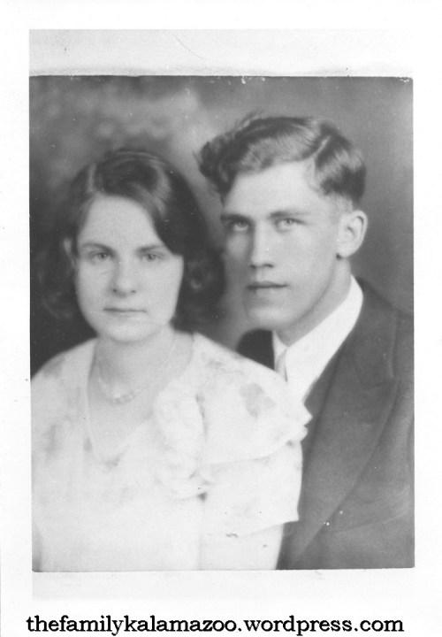 Adrian Jr. and Edna (Mulder) Zuidweg, 1932