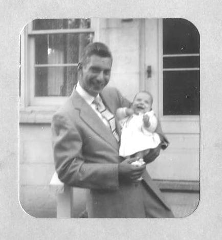 Dad and me 1955