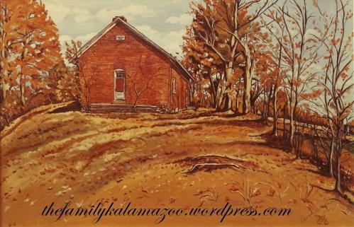 Gourdneck Prairie-Webber Schoolhouse, Schoolcraft Township