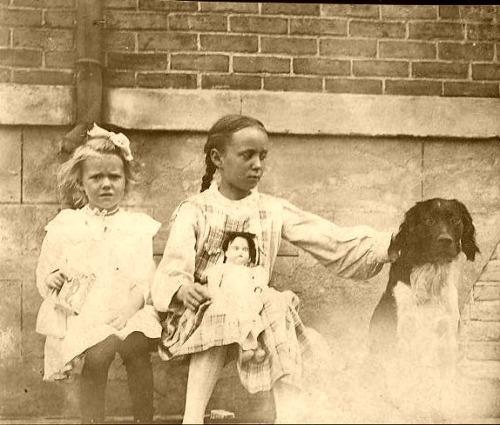 Alice Leeuwenhoek with doll