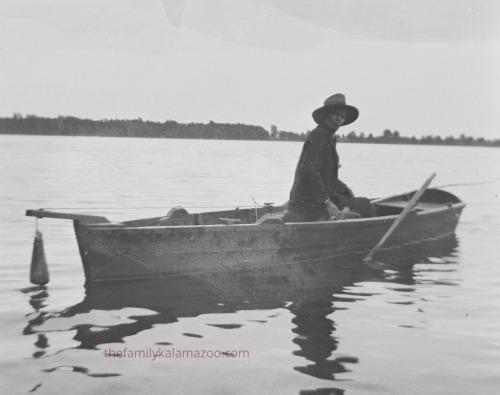 Richard DeKorn enjoying the lake