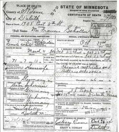 death certificates for genealogy | The Family Kalamazoo