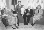 5 generations Mary, Edwin, David, Charles, and Frances DeSmit, Reeves, Flipse(1)